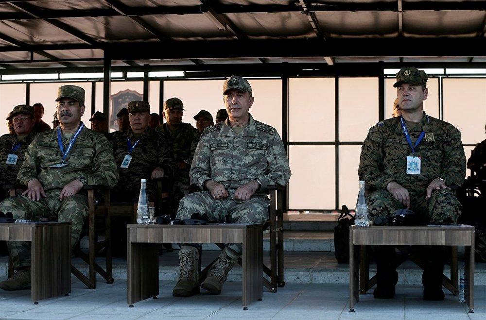 Efes-2018 Birleşik Müşterek Fiili Atışlı Tatbikatı