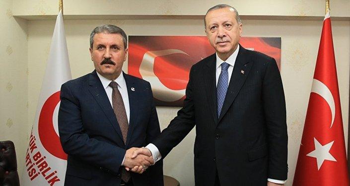 Recep Tayyip Erdoğan - Mustafa Destici