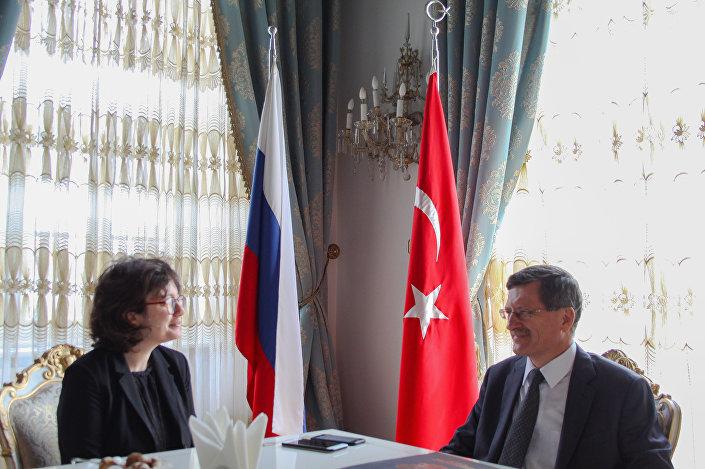 Rusya Federasyonu İstanbul Başkonsolosu Andrey Podyelışev