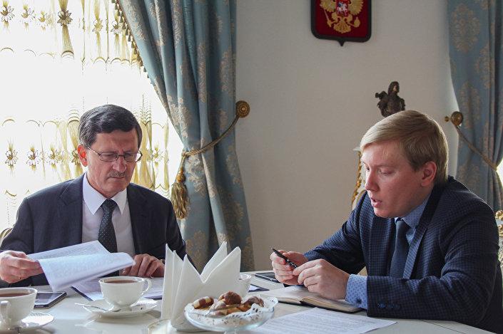 Rusya Federasyonu İstanbul Başkonsolosu Andrey Podyelışev, Sputnik'e verdiği röportajda Rusya ve Türkiye arasında hızla gelişen ticari, toplumsal, siyasi ve kültürel ilişkileri anlattı.