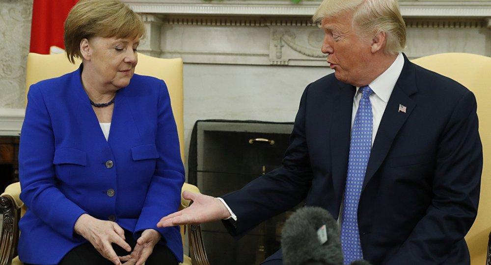 Beyaz Saray'da ikinci Merkel-Trump görüşmesi