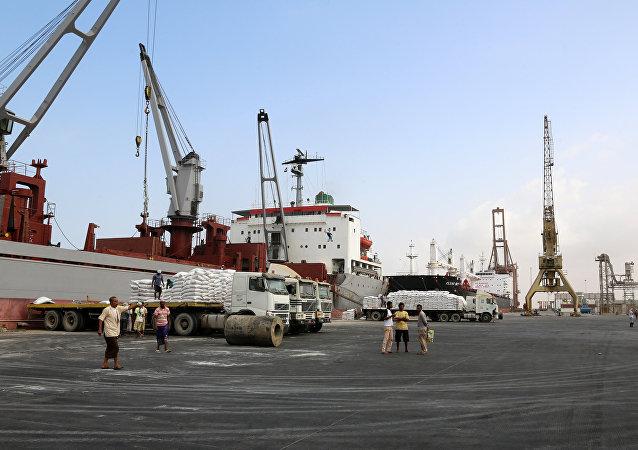 Yemen- Hudeyde limanı