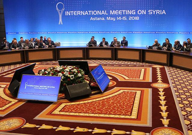 Kazakistan'da, Suriye konulu 9. Astana toplantısı
