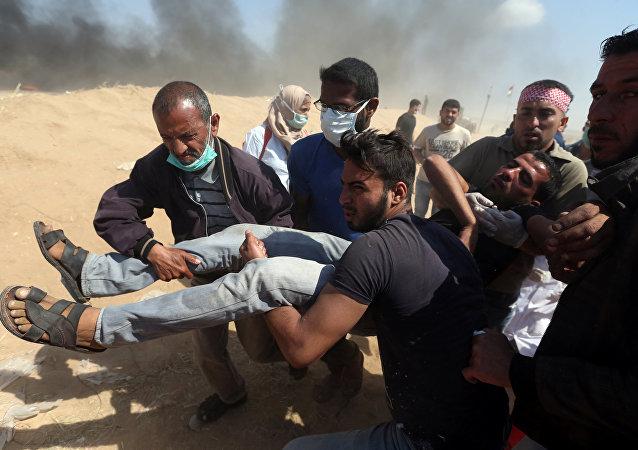 Nakba Gazze