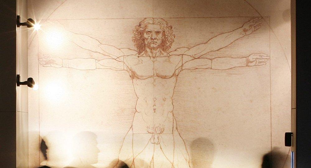 Vitruvius Adamı, Leonardo da Vinci