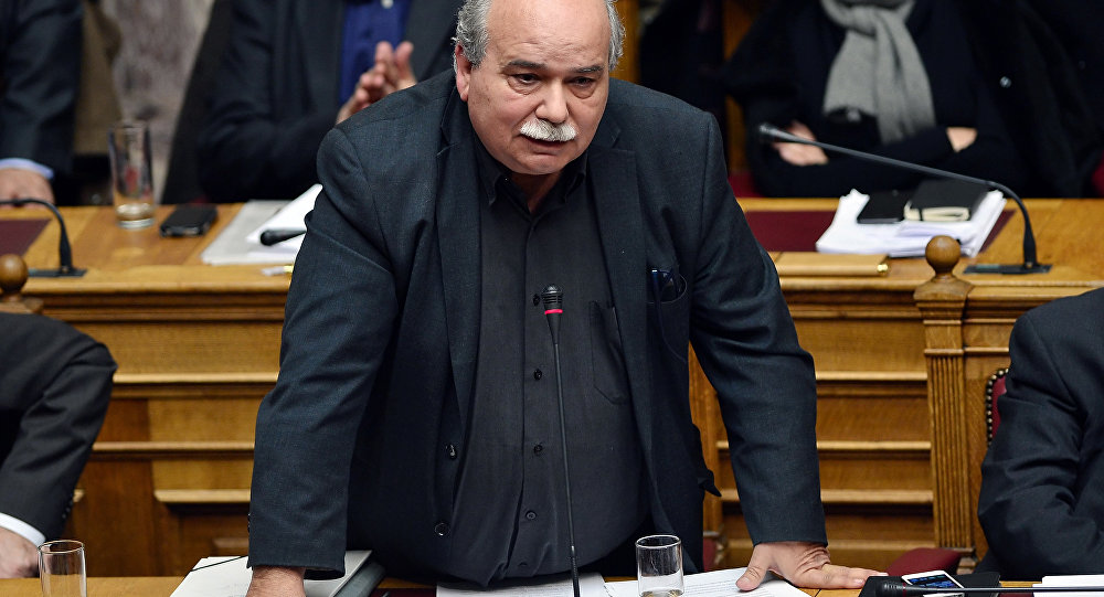 Yunan Parlamento Başkanı Nikolaos Voutsis
