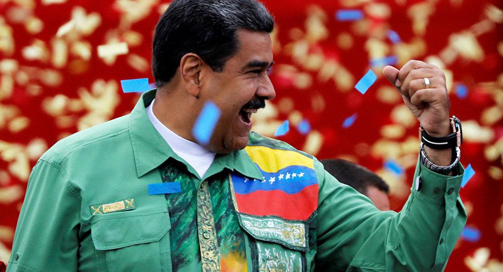 Venezüella Devlet Başkanı Nikolas Maduro