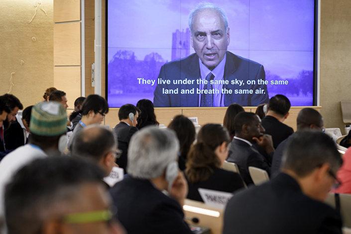 BM İşgal Altındaki Filistin Topraklarındaki İnsan Hakları Özel Raportörü Michael Lynk