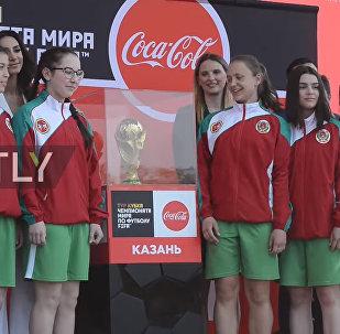 Dünya Kupası'nda bir ilk: Tataristan'dan kız futbol takımı top toplayıcı olacak