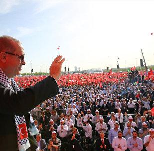 Erdoğan: İslam dünyası ve tüm insanlık Kudüs imtihanından sınıfta kalmıştır