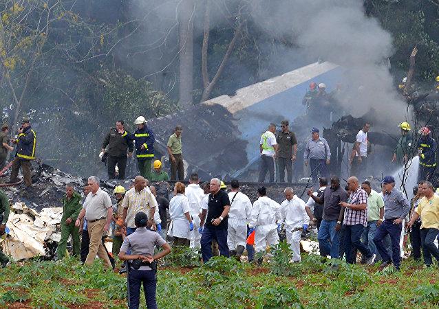 Küba'nın başkenti Havana'dan havalanan Boeing 737 düştü