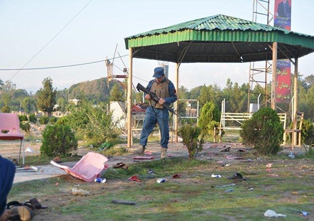 Afganistan'da kriket stadyumuna saldırı: 8 ölü