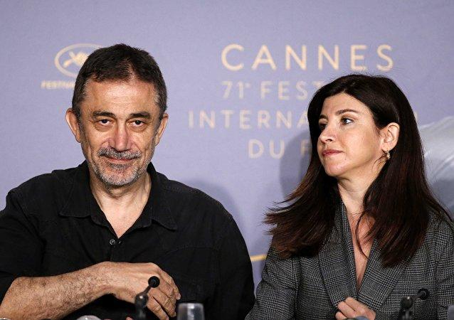 71. Cannes Film Festivali, Ahlat Ağacı filminin tanıtımı, Nuri Bilge Ceylan-Ebru Ceylan