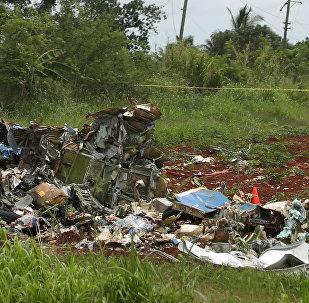 Küba-uçak kazası