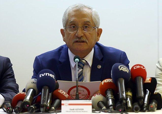 YSK Başkanı Sadi Güvenn