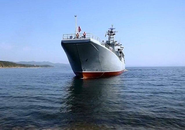 Rusya Pasifik Filosu kuruluşunun 287. yıldönümü kutlanıyor