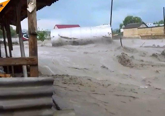 Dağıstan'da sel felaketi