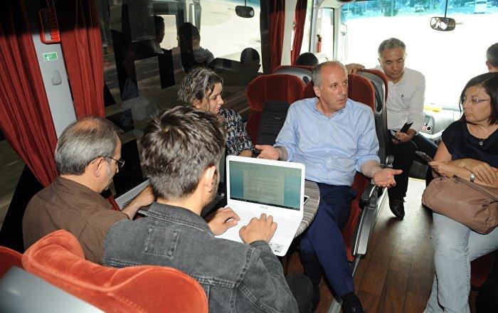 CHP'nin Cumhurbaşkanı adayı İnce: Dış politikada toptan yeni bir dönem başlatacağı