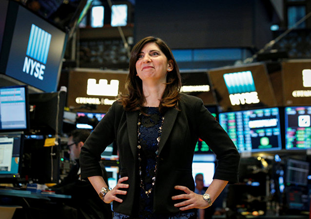 New York Menkul Kıymetler Borsası'nın (NYSE) başkanlığına getirilen Stacey Cunningham
