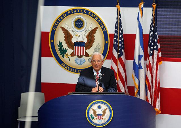 ABD'nin Kudüs Büyükelçiliği açılışı, Büyükelçi David Friedman