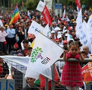 HDP, miting, secmen