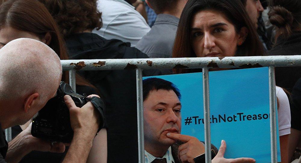 RİA Novosti Ukrayna Genel Yayın Yönetmeni Kirill Vışinskiy