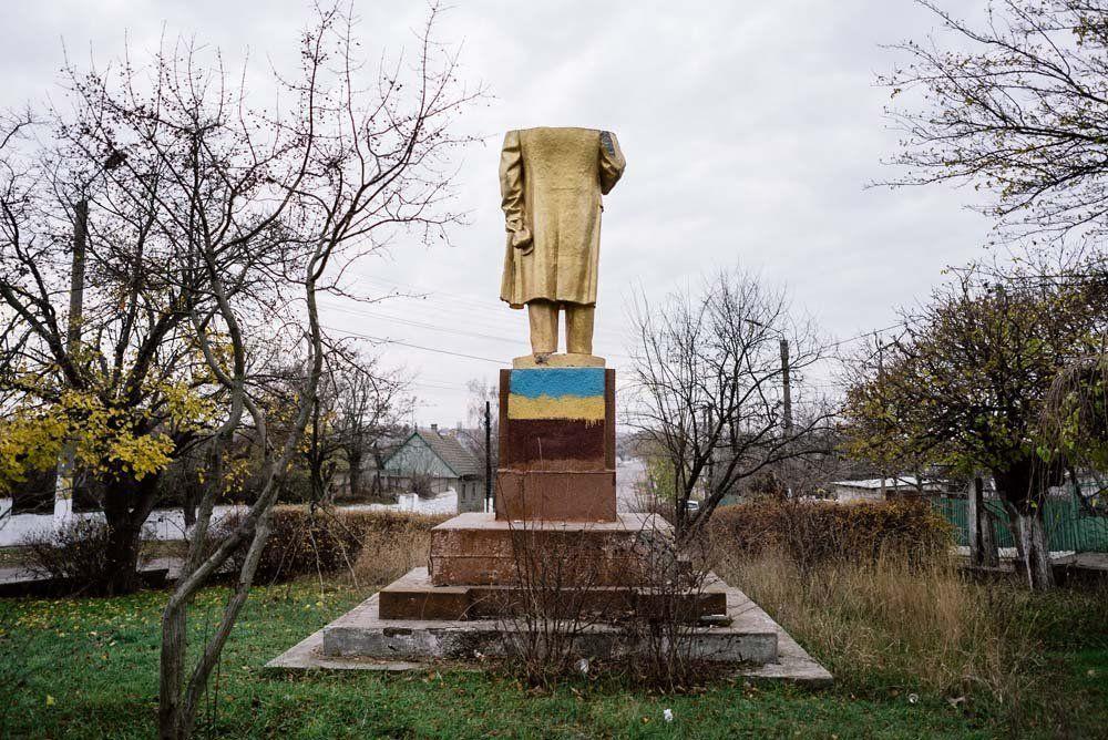 Ukrayna'daki  Lenin heykelleri