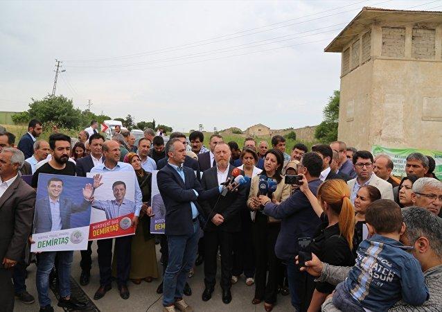 HDP seçim çalışmalarını Edirne'de başlattı