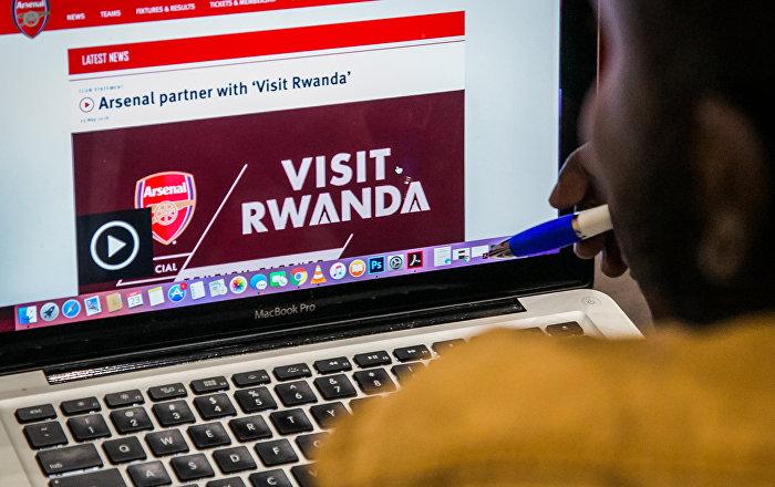 Afrika ülkesi Ruanda, Arsenal'a sponsor oldu