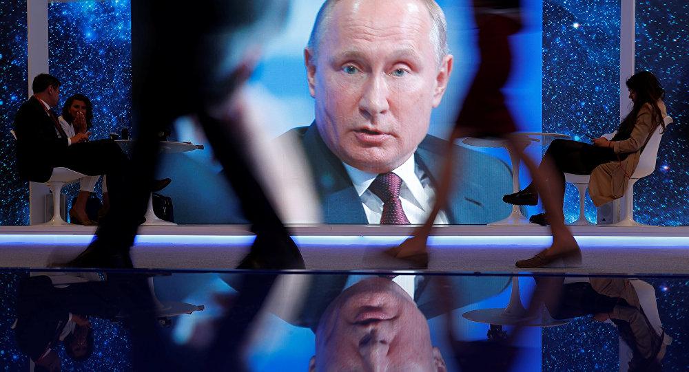 Küresel devleri St. Petersburg Uluslararası Ekonomi Forumuna çeken Putin yaptırımları unutturdu 75