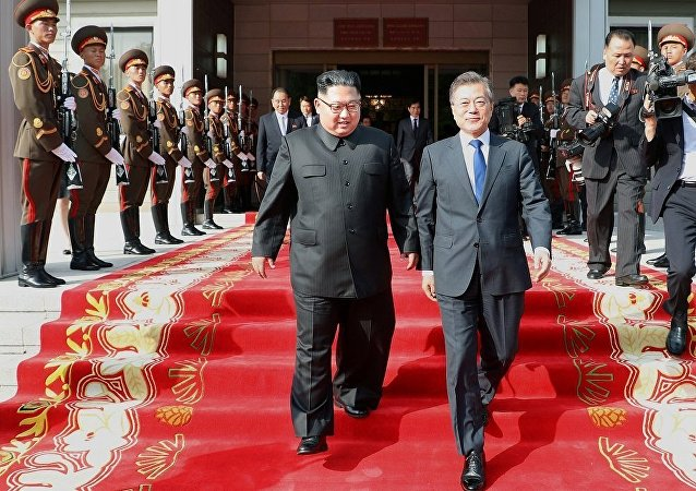 Moon Jae-in - Kim Jong-un