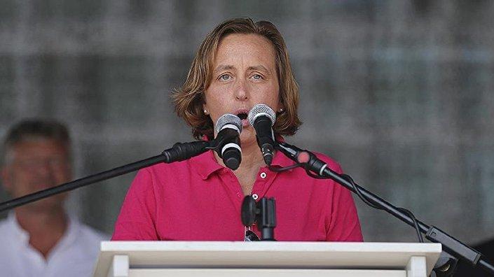 AfD Yönetim Kurulu Üyesi Beatrix von Storch.