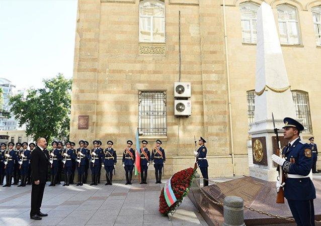 Azerbaycan'da 28 Mayıs 1918'de ilan edilen Cumhuriyetin 100. yıl dönümü kutlanıyor