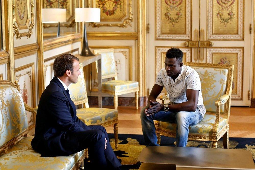 Emmanuel Macron - Mamoudou Gassama