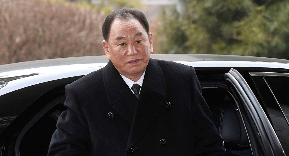 Kuzey Kore lideri Kim Jong-un ve sağ kolu Kim Yong Chol