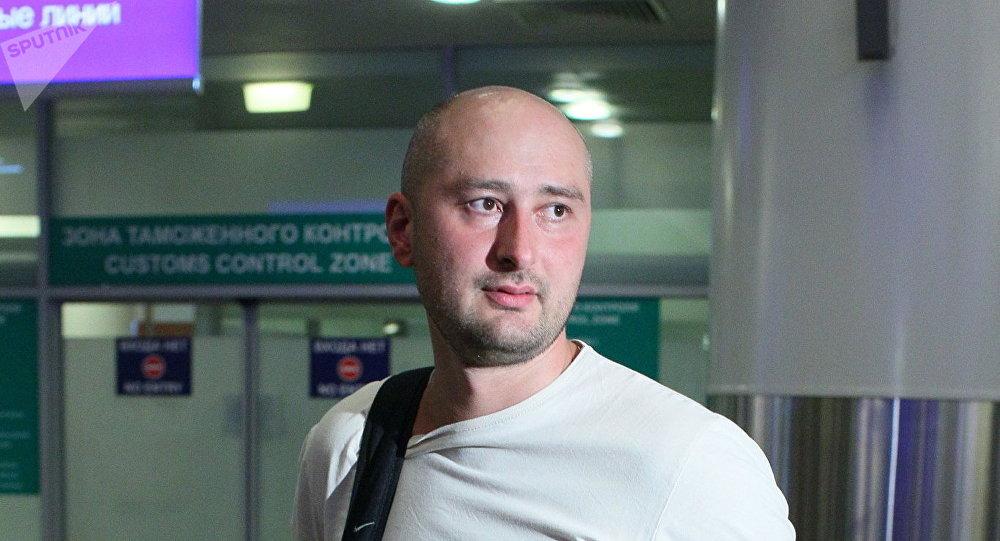 Russian journalist Arkady Babchenko
