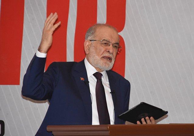 Saadet Partisi Genel Başkanı ve cumhurbaşkanı adayı Temel Karamollaoğlu
