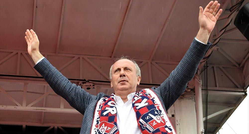 CHP'nin Cumhurbaşkanı Adayı Muharrem İnce, Kırıkkale Cumhuriyet Meydanı'nda düzenlenen mitingde vatandaşlara hitap etti.