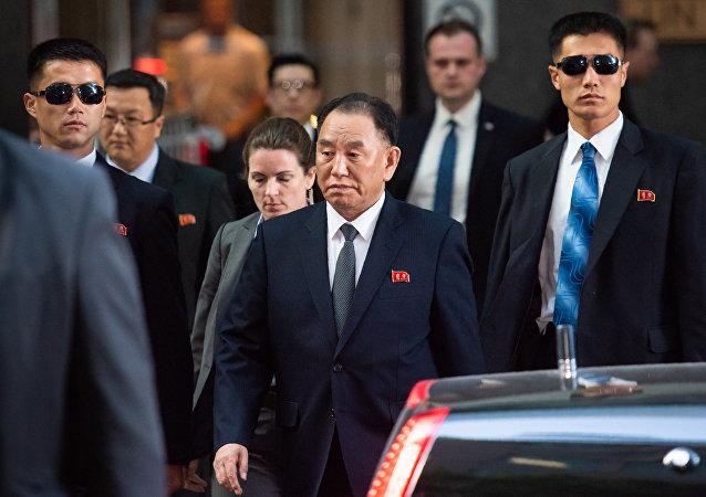 Kuzey Kore İşçi Partisi Merkez Komitesi Başkan Yardımcısı Kim Yong Chol, New York'ta