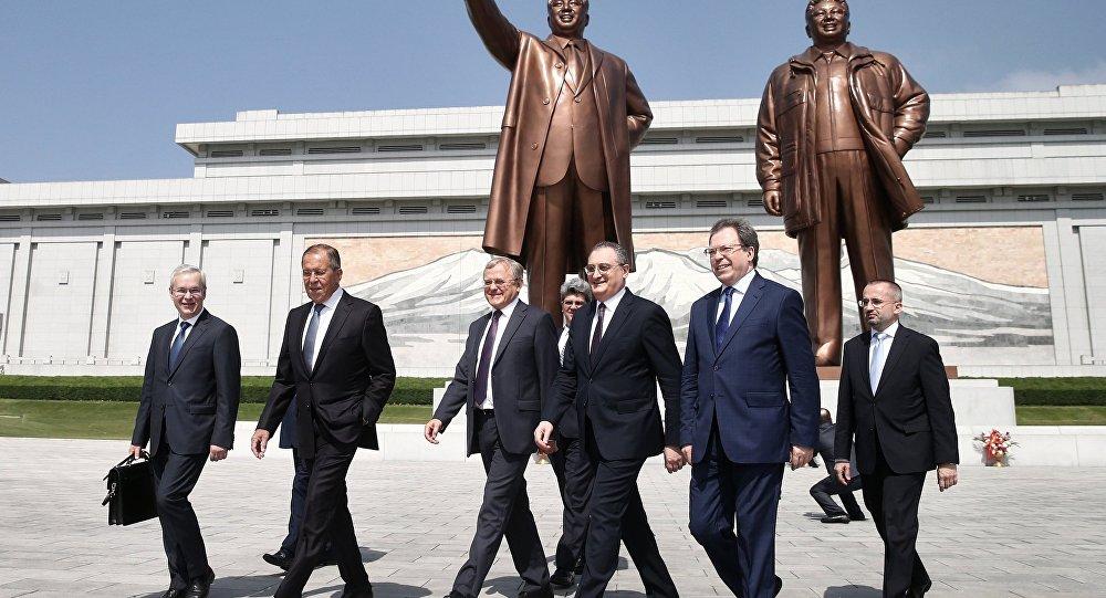 Rusya Dışişleri Bakanı Sergey Lavrov- Kuzey Kore