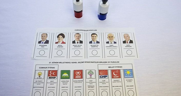 24 Haziran oy pusulaları