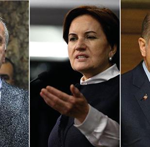 Muharrem İnce - Meral Akşener -Recep Tayyip Erdoğan