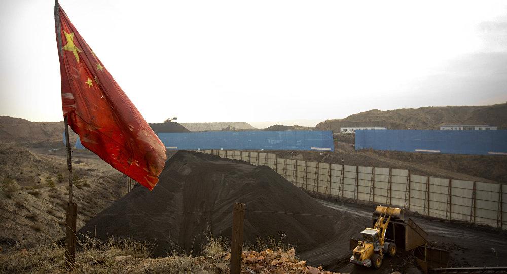 Çin-Kömür madeni