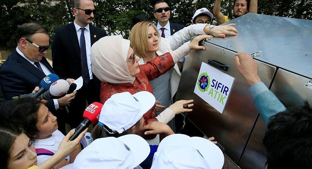 Cumhurbaşkanı Recep Tayyip Erdoğan'ın eşi Emine Erdoğan