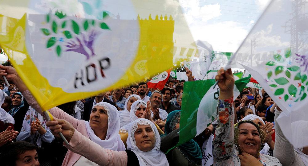 HDP seçmeni, bayrağı