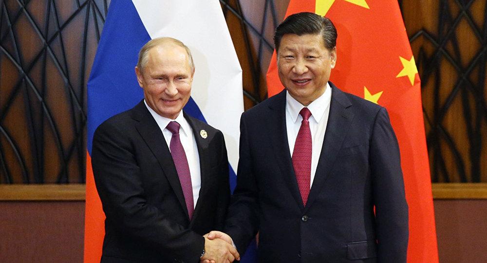 Rusya Devlet Başkanı Vladimir Putin-Çin Devlet Başkanı Şi Cinping