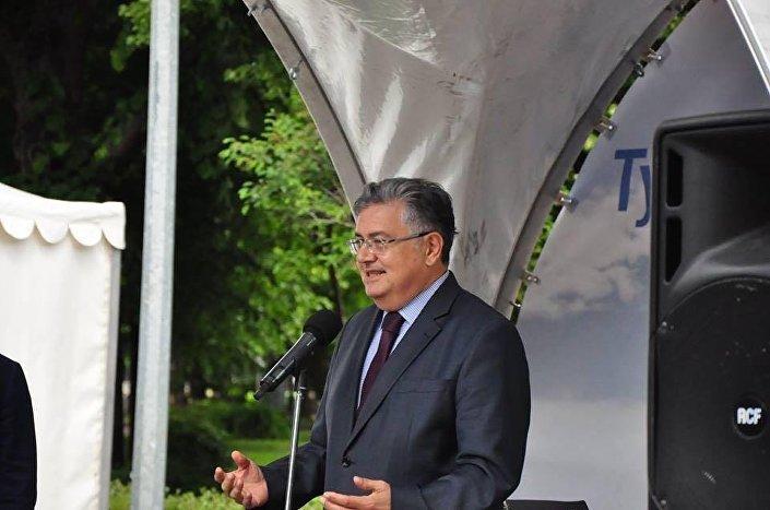 Türkiye'nin Rusya Büyükelçisi Hüseyin Diriöz.