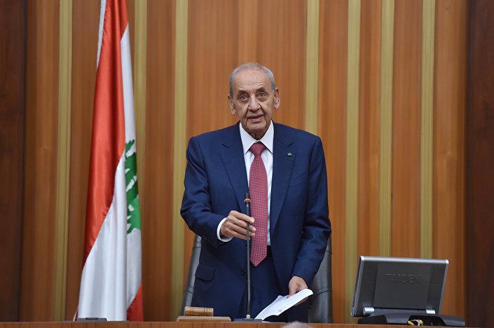 Lübnan Meclis Başkanı Nebih Berri