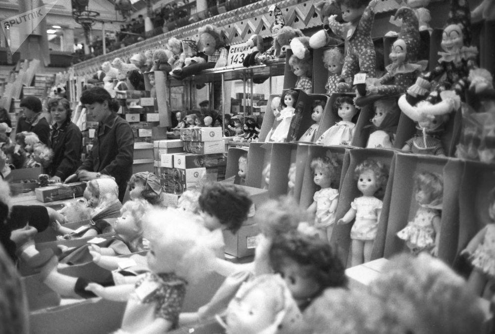 SSCB'de Çocuk Dünyası Mağazası