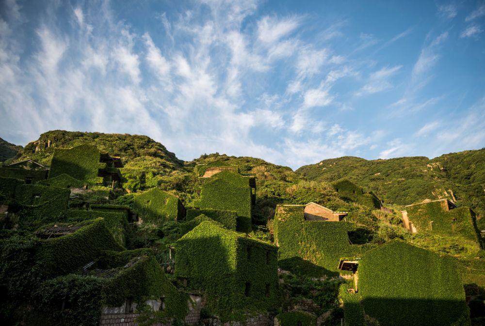 Çin'deki yemyeşil ada